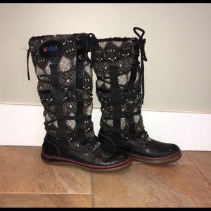 Pajar women's boots Euro39 Sweater Fair Isle